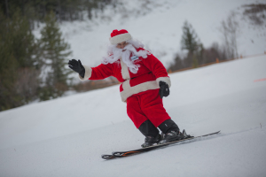 Ski With Santa, Fernie Alpine Resort - 23 December 2014