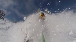 Screen shot from Dylan March pow vid