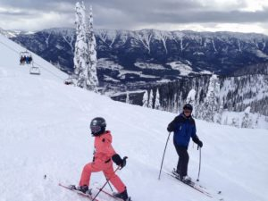 Top of the whitepass chair, Falling Star