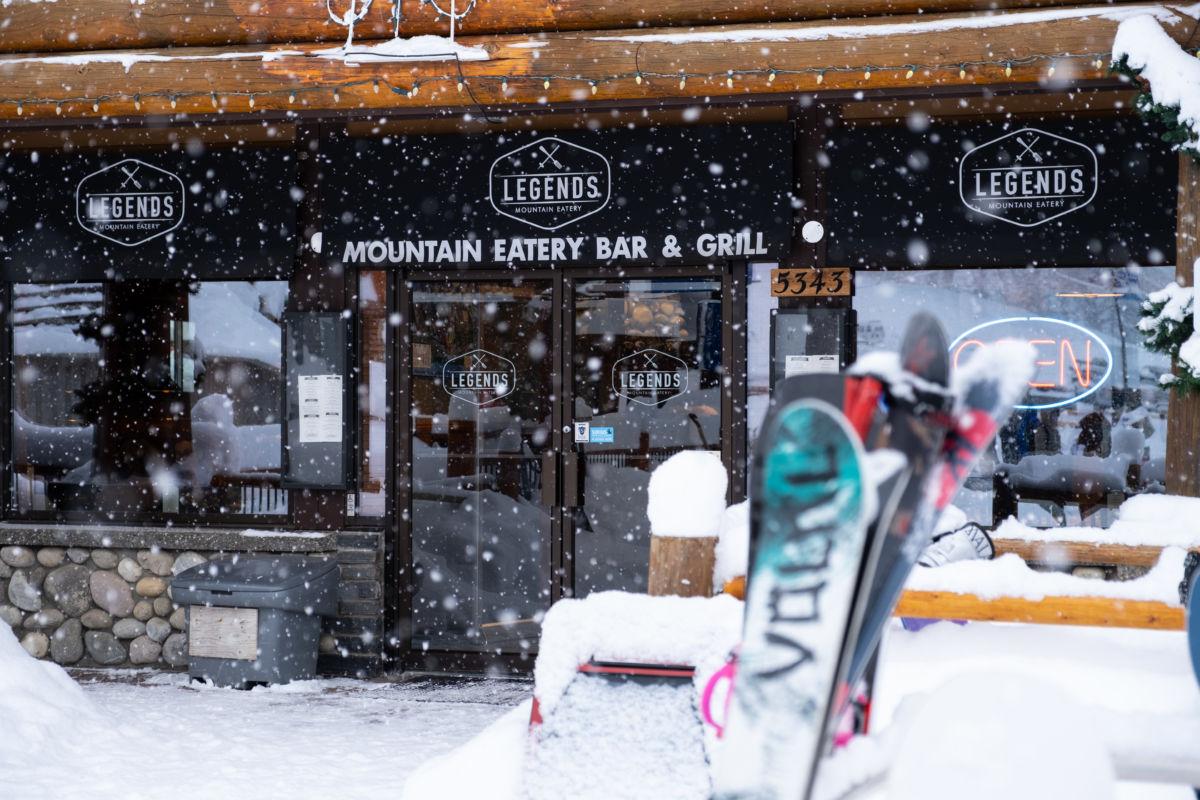 Legends Mountain Eatery Winter