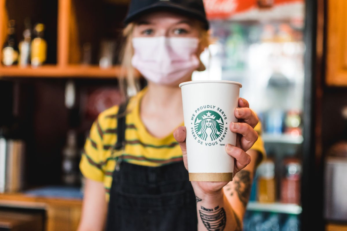 Starbucks at Lost Boys Cafe